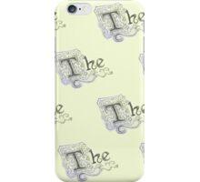 "Spongebob - Detailed ""The"" Pattern iPhone Case/Skin"