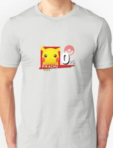 Pikachu - Super Smash Bros Wii U T-Shirt