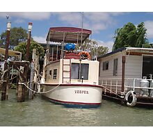 Old River Boat. Photographic Print