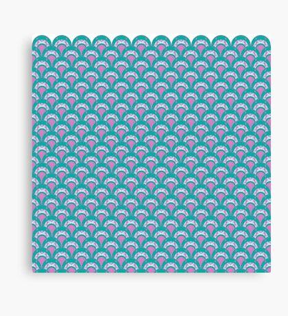Mermaid Shells Canvas Print