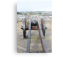 Looking Down a Cannon Metal Print