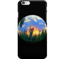 FISH EYE SUNSET #3 iPhone Case/Skin