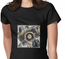 I Am a Camera. Womens Fitted T-Shirt