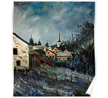 Vivy village ardennes belgium Poster