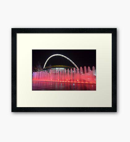 Wembley Water Framed Print
