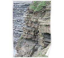 Erosion at Widemouth Bay Poster