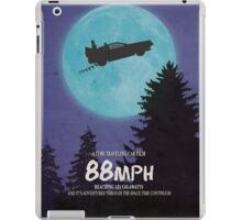 88mph (ET Movie Poster Parody) iPad Case/Skin