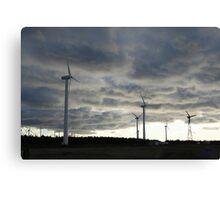 Windmill Farm, Prince Edward Island Canvas Print