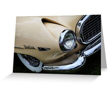 1954 Hudson Italia Greeting Card