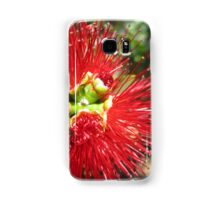 Bottle brush flower Samsung Galaxy Case/Skin