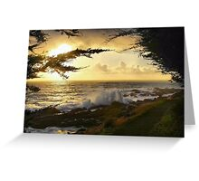 A Walk By the Sea Greeting Card