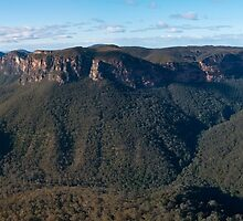 View of the Grose Valley from Evans Lookout  by Chris  Randall