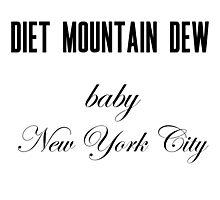 Diet Mountain Dew Photographic Print
