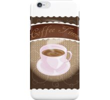 Coffee Time iPhone Case/Skin