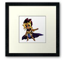 Pharaoh Atem Framed Print