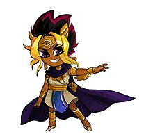 Pharaoh Atem Photographic Print