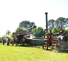 Taralga Steam Engine Rally 15/11/2008 by Nick Ryan
