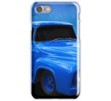 Blue F Truck iPhone Case/Skin