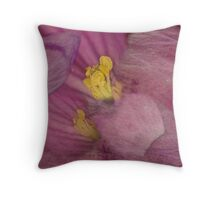 LOOSING THE PINK SAFETY Throw Pillow