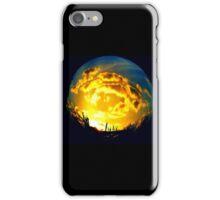 FISH EYE SUNSET #6 iPhone Case/Skin