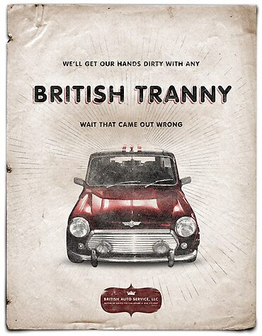 A Brittish Tranny by JamesMcNair