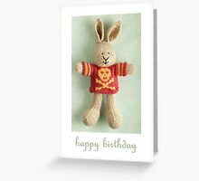 cal birthday Greeting Card