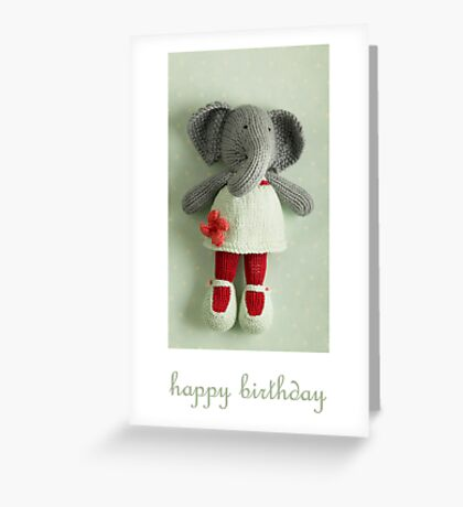 edwina birthday Greeting Card