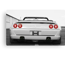 1995 Ferrari F355 Spider - Rear End - Have to stare! It won't slap you! Canvas Print