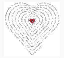 """Supernatural is Love is Supernatural""! by luvchildofelvis"