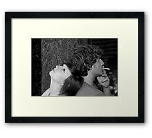 Teenagers! Framed Print