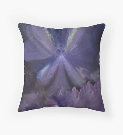 The Mystical Region Throw Pillow