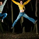 Jump in the woods by Ian  James