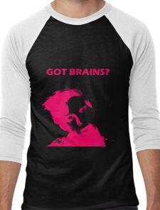 Got Brains? Men's Baseball ¾ T-Shirt