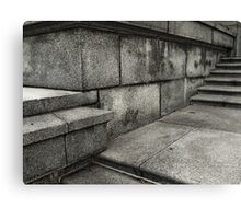 Granite Grunge Canvas Print