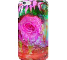 Circle of love and Roses iPhone Case/Skin