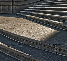 Steps and Shadow by Myron Watamaniuk