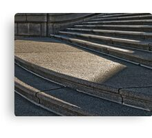 Steps and Shadow Canvas Print