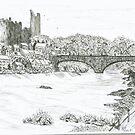 The Framwellgate Bridge by GEORGE SANDERSON