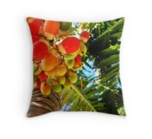 Saturation in the Tropics Throw Pillow