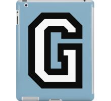 Letter G two-color iPad Case/Skin