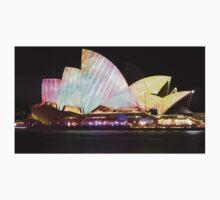 Sydney Opera House - Vivid 2014 One Piece - Short Sleeve