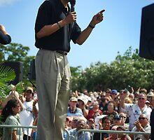 Barack Obama's message by Greg Kolio Taylor