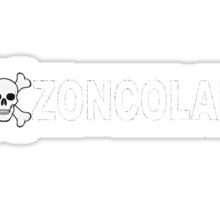 Monte Zoncolan Giro d'Italia Cycling Shirt Sticker