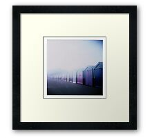 Brighton Blues Framed Print