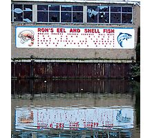 Ron's Eels and Shellfish Photographic Print