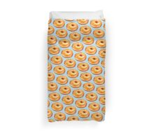 Glazed Doughnut Pattern Duvet Cover