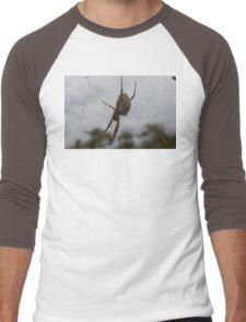 'She' awaits your presence Men's Baseball ¾ T-Shirt