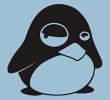 TUX Penguin in a bad mood, LINUX Kids Clothes