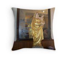 Mary & Baby Jesus Throw Pillow