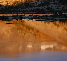 Reflections of Garnet Lake by Mar Silva